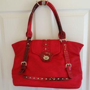 Arcadia U.S.A. Handbag Red Large
